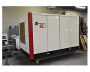 GARDNER DENVER 2 STAGE AIR COOLED ROTARY SCREW AIR COMPRESSOR