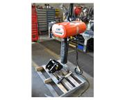 CM ELECTRIC CHAIN HOIST WITH TROLLEY