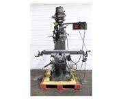 """42"""" Table 2HP Spindle Supermax VERTICAL MILL, Trak DRO, Servo Power Table Feed, R-8,"""