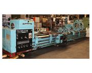 """41"""" Swing 240"""" Centers Tos SU100 ENGINE LATHE, Inch/Metric,Anilam DRO,Steady Res"""