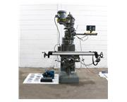 """46"""" Table 2HP Spindle Wells-Index 847 VERTICAL MILL, Vari-Speed,R-8, DRO, Servo Pwr T"""